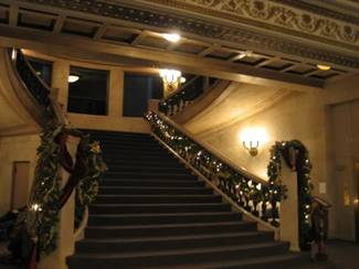 Chicago Cultural Center - Regal Stairs