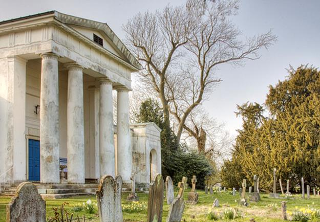 The Palladian Church, Ayot St Lawrence by Roantrum